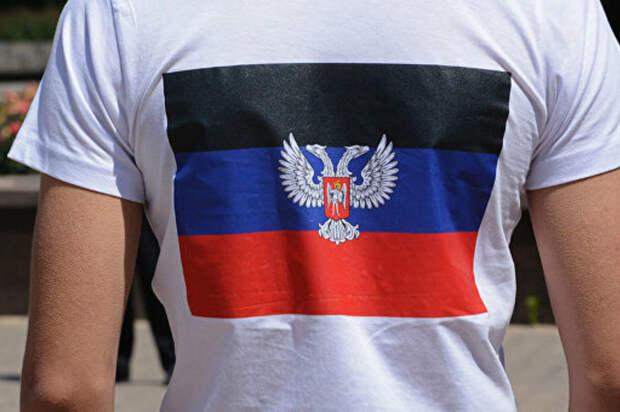 Американец с символикой ДНР в немецком аэропорту испугал украинских «патриотов»
