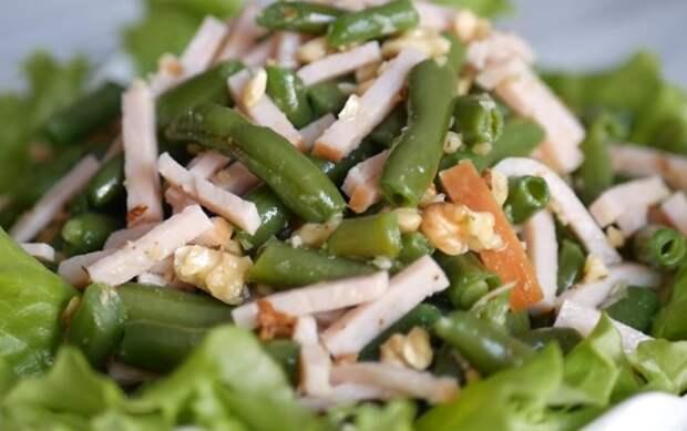 Вкусный и сытный салат без майонеза
