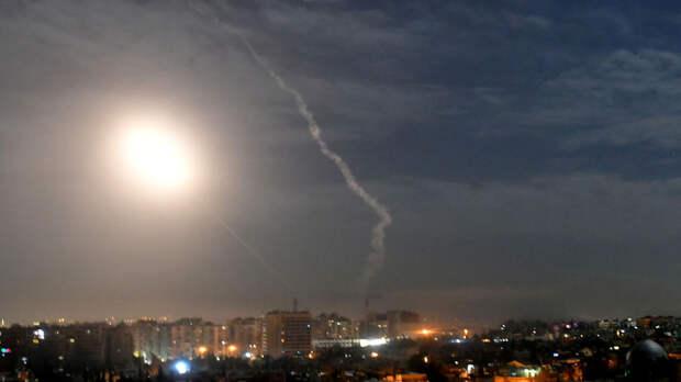 SANA: силы ПВО Сирии отражают воздушную атаку со стороны Израиля