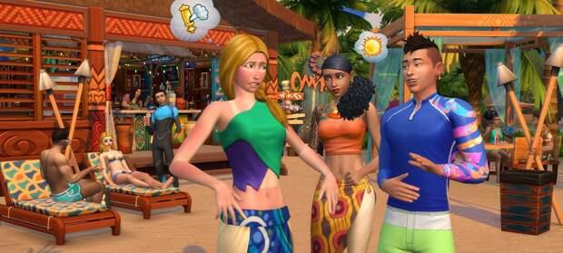 Первые подробности летнего сезона в The Sims 4
