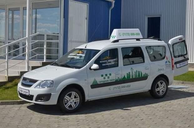 Лады Ларгус задействуют в Казахстане в качестве такси