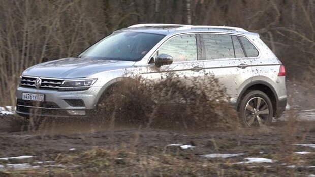 Новый VW Tiguan: темпераментная дорогомешалка