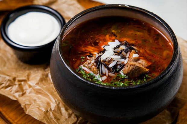 Вкуснейший суп-харчо. \ Фото: korrespondent.net.
