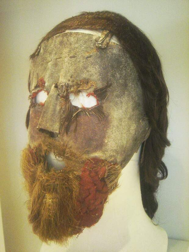 Зловещая маска шотландского пророка