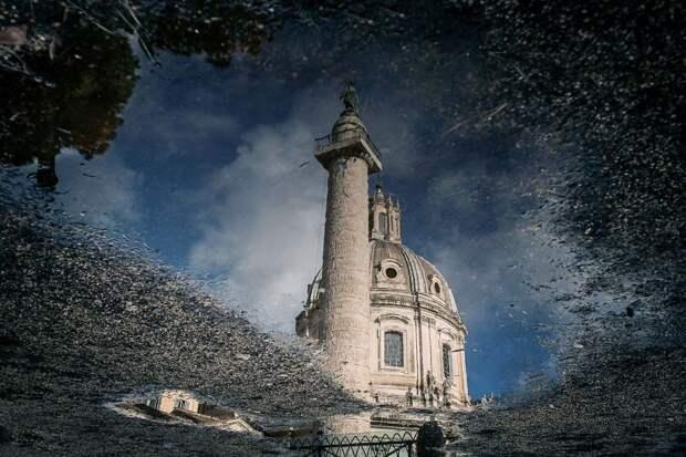 Дождливый Рим: необычный взгляд на Вечный город