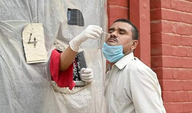 Количество новых случаев коронавируса в Индии выросло на миллион за четыре дня