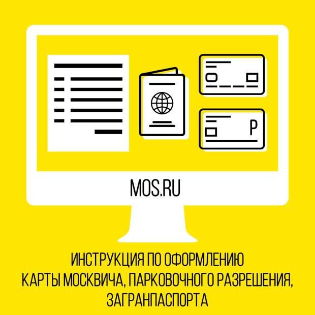 Mos.ru расскажет, как оформить нужные документы