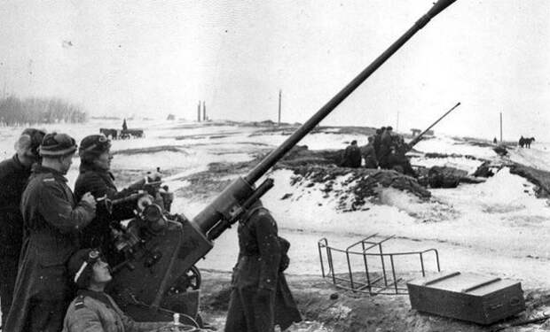 Накрыл семь танков из одной зенитки: солдат Дыскин против колонны немецких танков