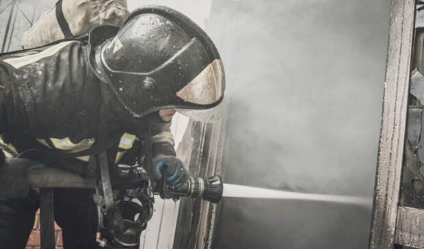 При пожаре под Сорочинском пострадала пожилая женщина