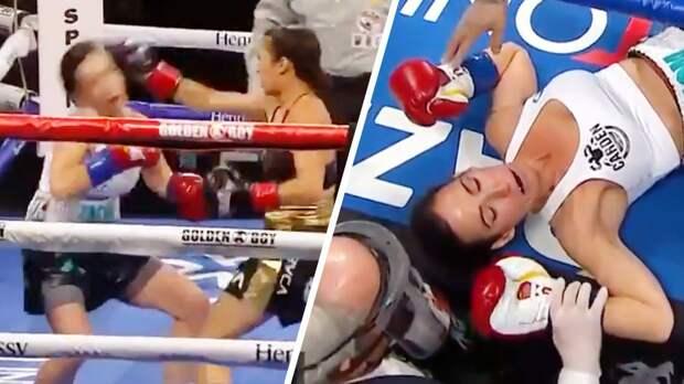В США состоялся самый быстрый нокаут в истории женского бокса: видео
