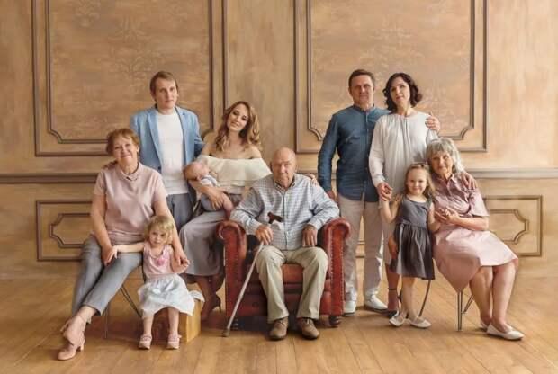 Курс на большую семью
