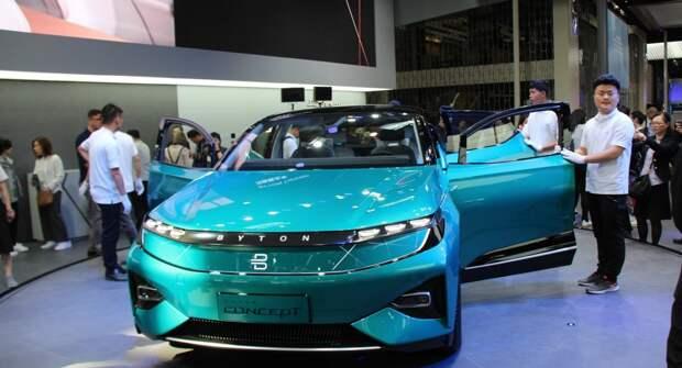 Китайский автопроизводитель BAIC пошел по пути «интеллектуализации»