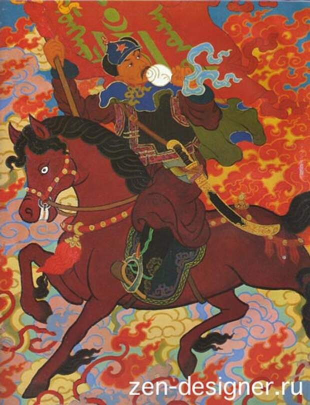 Синие монголы с коричневыми лицами