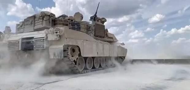 Армия США поделилась невероятным видео испытаний танка Abrams M1 (ВИДЕО)
