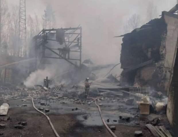 НТВ: 16 человек погибли на взорвавшемся складе под Рязанью