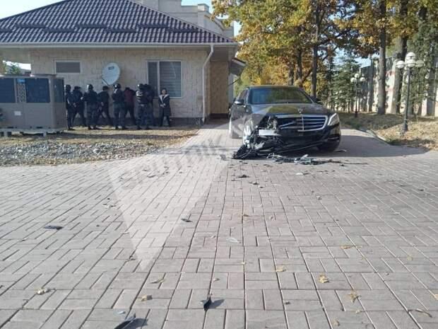 Бывший президент Киргизии Алмазбек Атамбаев задержан.
