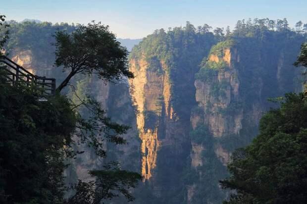 самые красивые горы китая