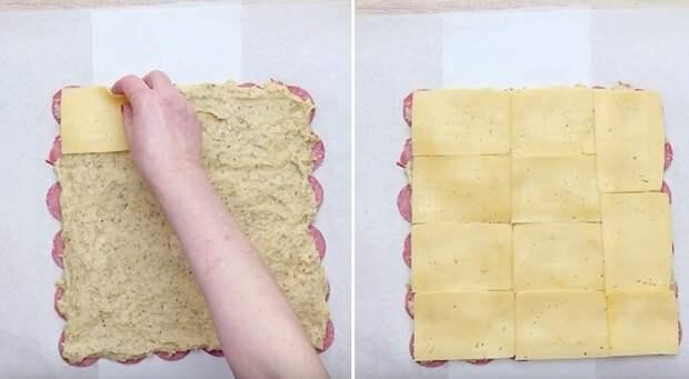 картофельный рулет в духовке