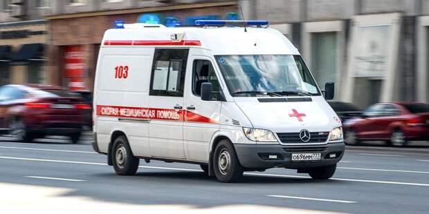 На Барышихе мотоциклист врезался во встречный автомобиль