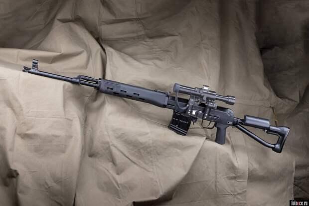"""Снайперская винтовка """"свдс"""""""