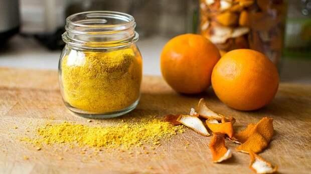 Апельсиновая цедра - ароматное лекарство