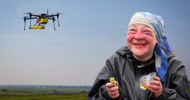 Алкогольный дрон из Китая поставил мировой рекорд