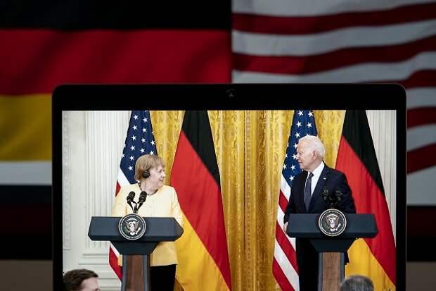 Конгресс США отказал Байдену в праве не применять санкции против «Северного потока-2»