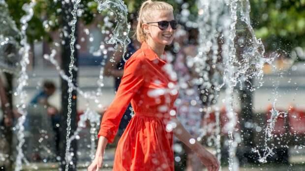 Летняя погода ожидается в Москве в ближайшие дни