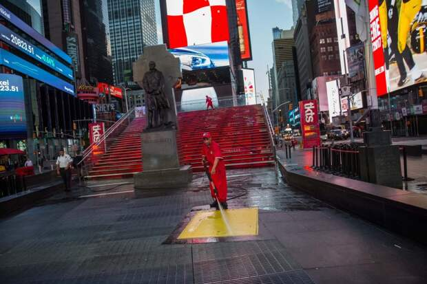 От рассвета до заката: один день из жизни Таймс-сквер