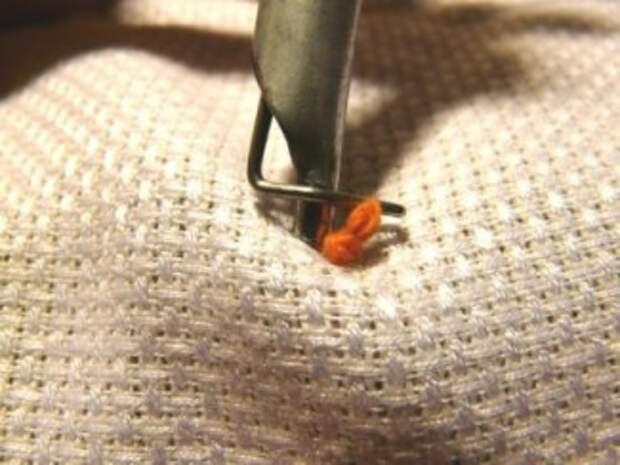 вышивка гобеленовым швом 13