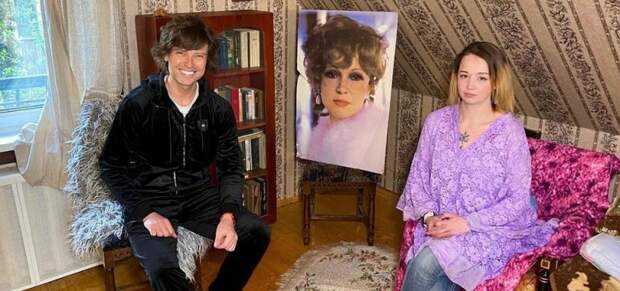 Прохор Шаляпин с внучкой Гурченко сломали кровать кинозвезды и обнаружили под ней бриллиант