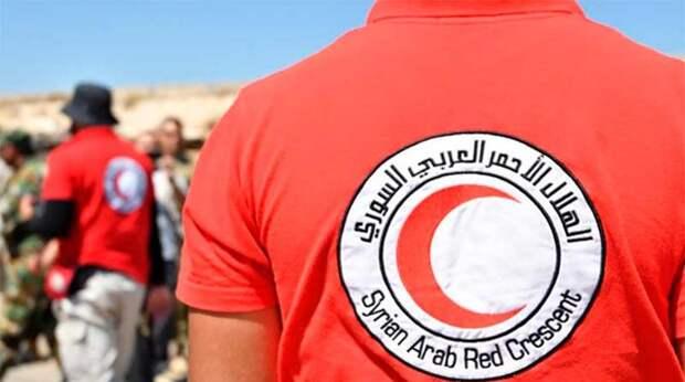 ИГ взяло на себя ответственность за уничтожение автомобиля Красного Полумесяца в Сирии