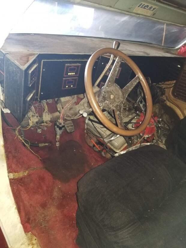 Чудо-Юдо-GMC: незавершенный проект фургона на продажу GMC, авто, автомобили, найдено на ebay, самоделка, фургон