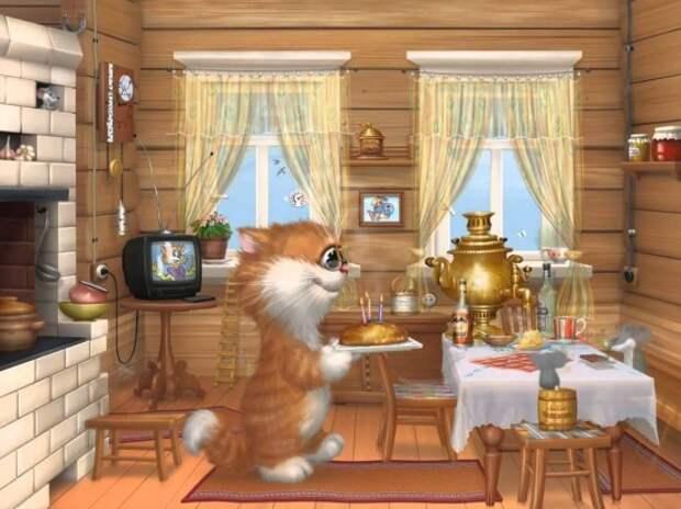 коты Алексея Долотова – 32