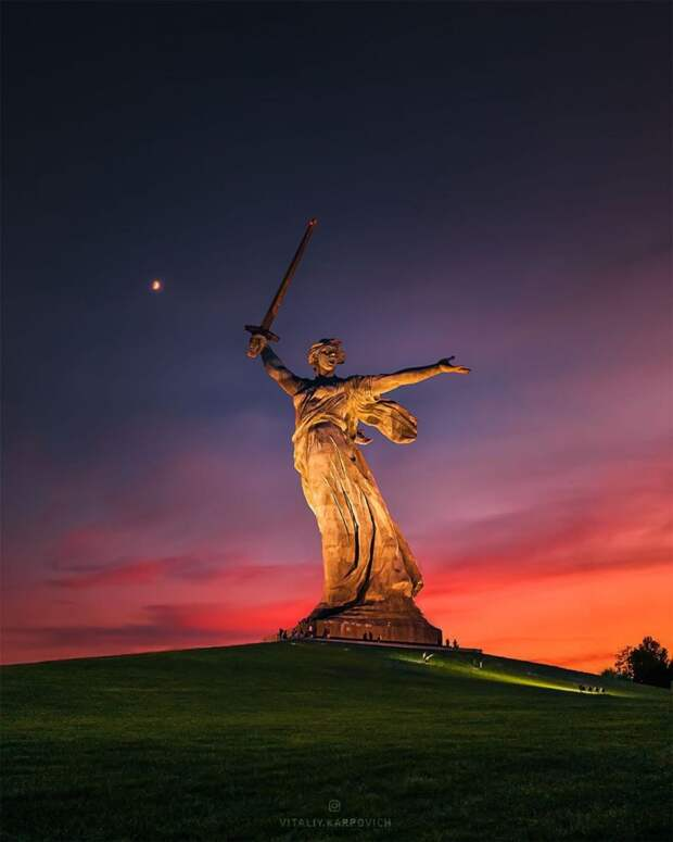 Красоты России. Впечатляющие городские пейзажи Виталия Карповича