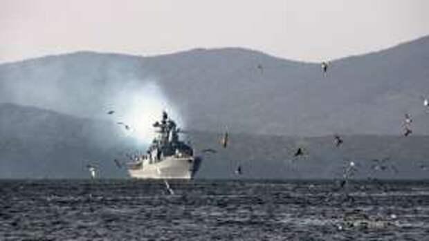Четыре боевых корабля России чудом не угодили в ловушку Японии