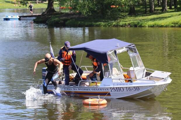 Спасатели ГКУ «МГПСС» к охране жизни людей на воде в летнем периоде полностью готовы