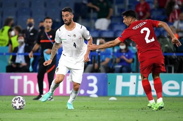 Спинаццола — лучший игрок матча Турция — Италия