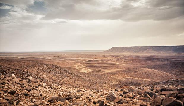Геологическая аномалия, которую видно даже из Космоса