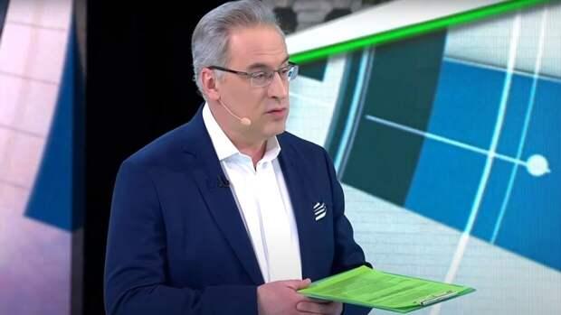 Норкин рассмешил телестудию осторожным анекдотом о разговоре Байдена и Путина