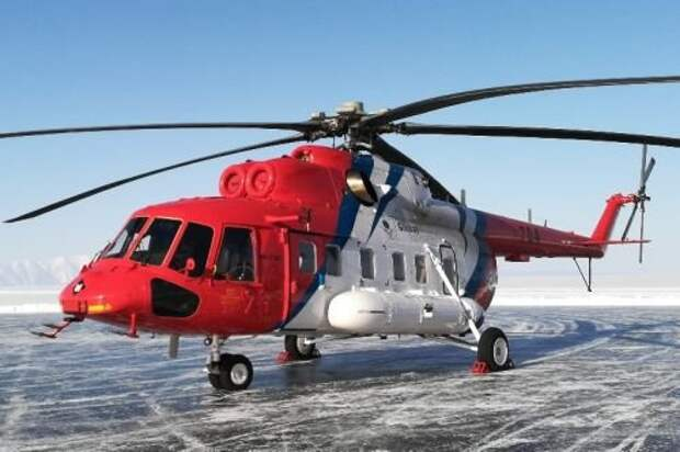 Вертолет Ми-171А2 установил рекорд скорости на Байкале