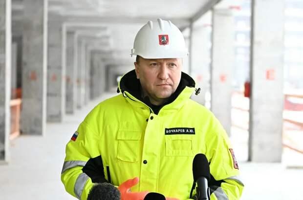 Бочкарев: Программа реновации реализуется более чем в 50 районах Москвы / Фото:Пресс-служба Комплекса градостроительной политики и строительства города Москвы