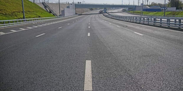 Собянин объявил об открытии двух новых дорог в ТиНАО. Фото Е. Самарина. Пресс-служба Мэра и Правительства Москвы