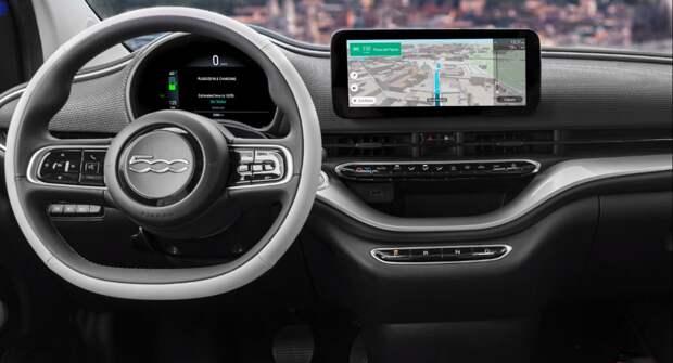 Пока в России любуются Китайскими машинками, в Европе Fiat делает вещи. Обзор на электричку Fiat 500 la.