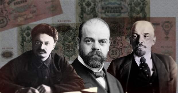 Троцкий, Парвус, Ленин