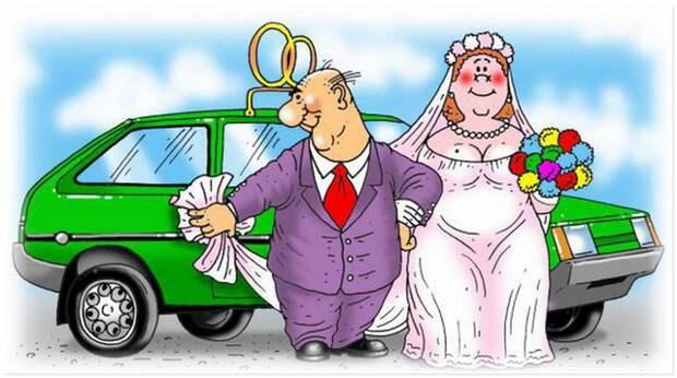 забавный случай на свадьбе