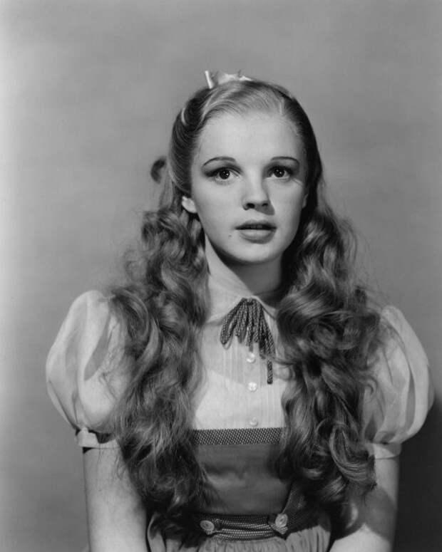 """Фотопробы Джуди Гарланд для фильма """" Волшебник Страны Оз"""", 1939 год"""
