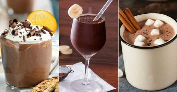 рецепты горячего какао