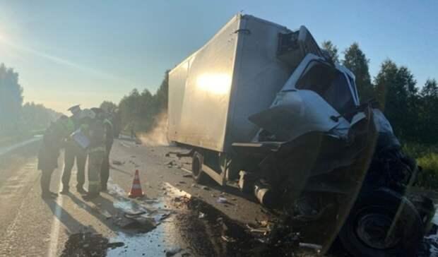 Уснул зарулем: водитель «ГАЗели» погиб вДТП наТюменском тракте