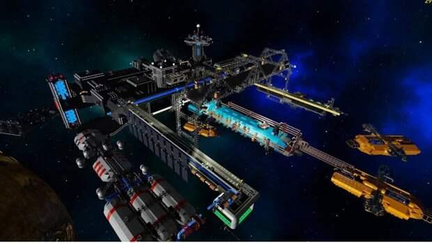 Стал известен окончательный облик ядерного буксира «Зевс» и космическая верфь вместо станции